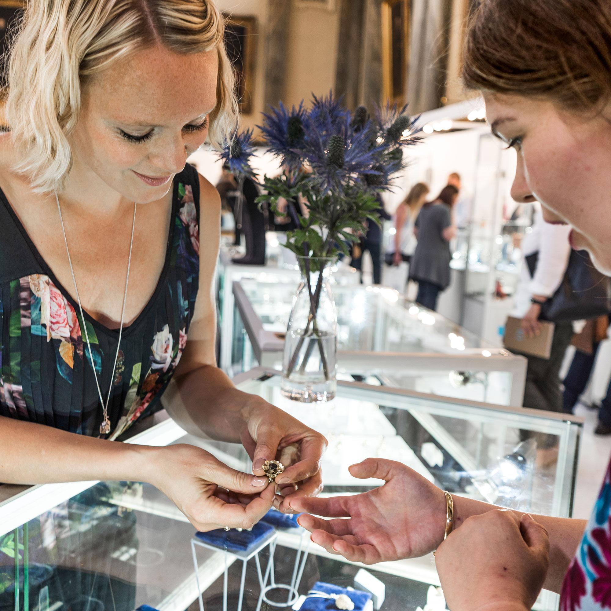 Victoria Walker Kinetic Flower Jewellery